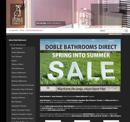 Doble Bathrooms Direct