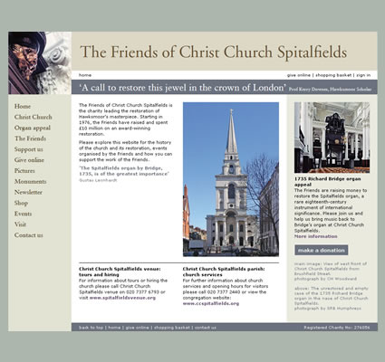 The Friends of Christ Church Spitalfields