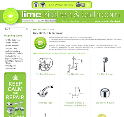 Lime Kitchens & Bathrooms